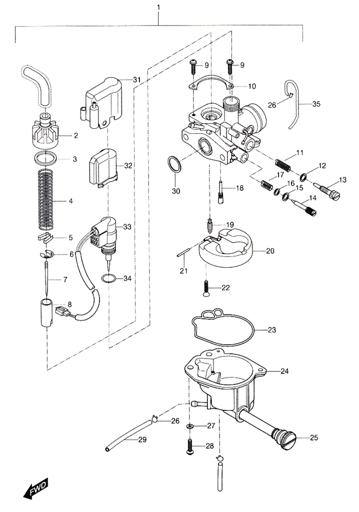 [MT_9903] 50Cc Scooter Carburetor Diagram Wiring Diagram