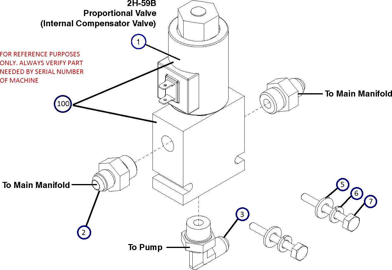 [HG_3718] Hydraulic Manifold Schematic Download Diagram