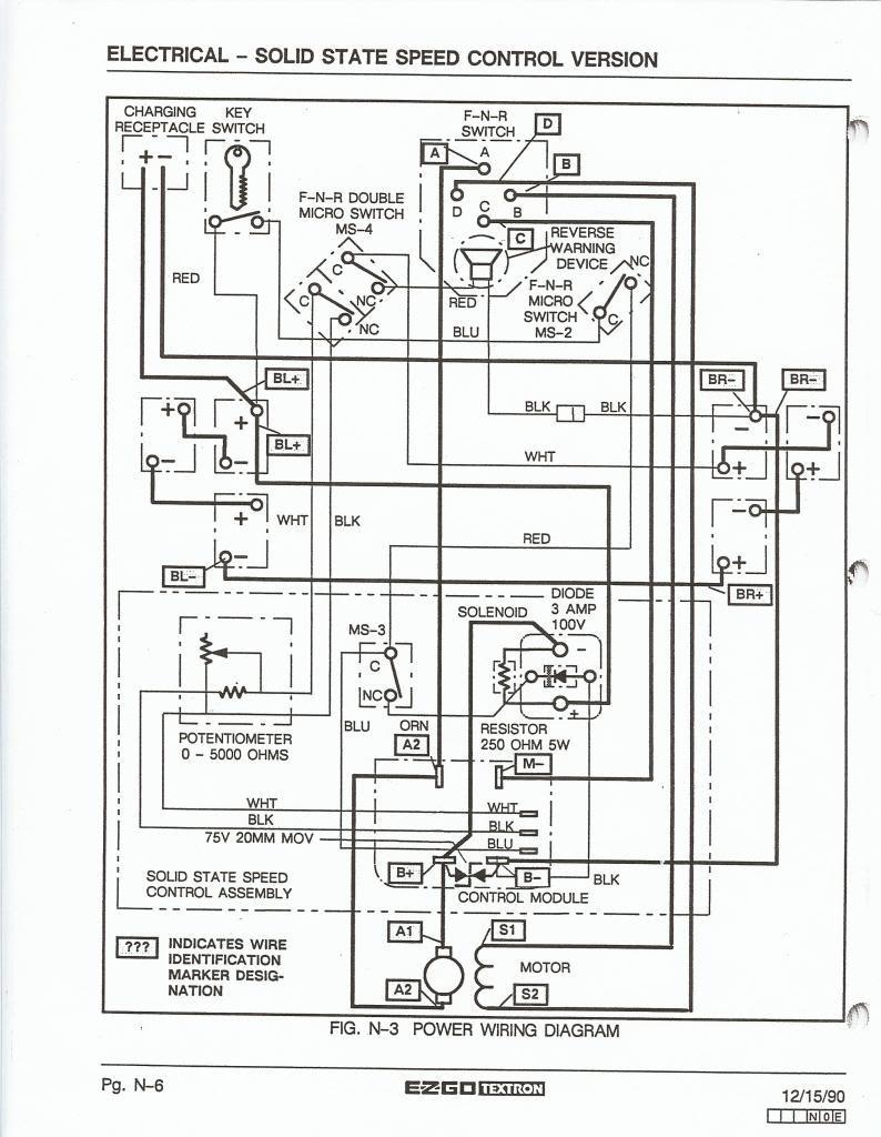 [DIAGRAM] Gas Ez Go Workhorse Wiring Diagram Manual FULL