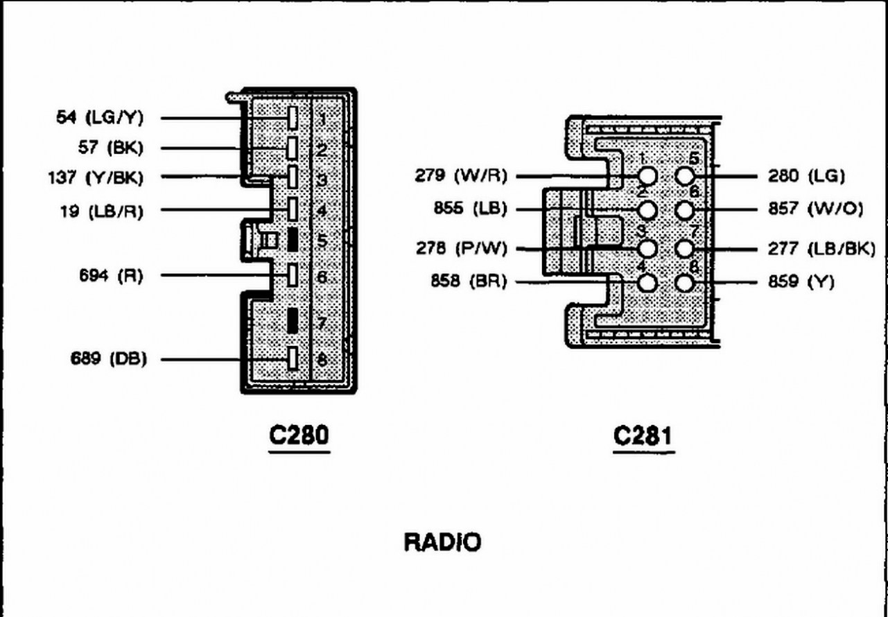 Ford Mustang Radio Wiring Diagram Images