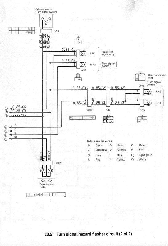 Wiring Diagram Mitsubishi Canter / Mitsubishi Canter 2007