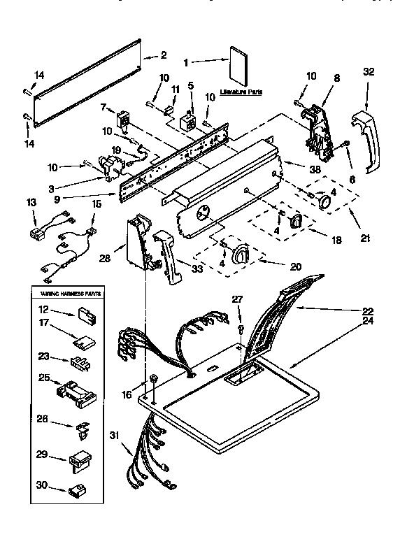 [MT_8741] Kenmore 76722 Dryer Wiring Diagram Free Diagram