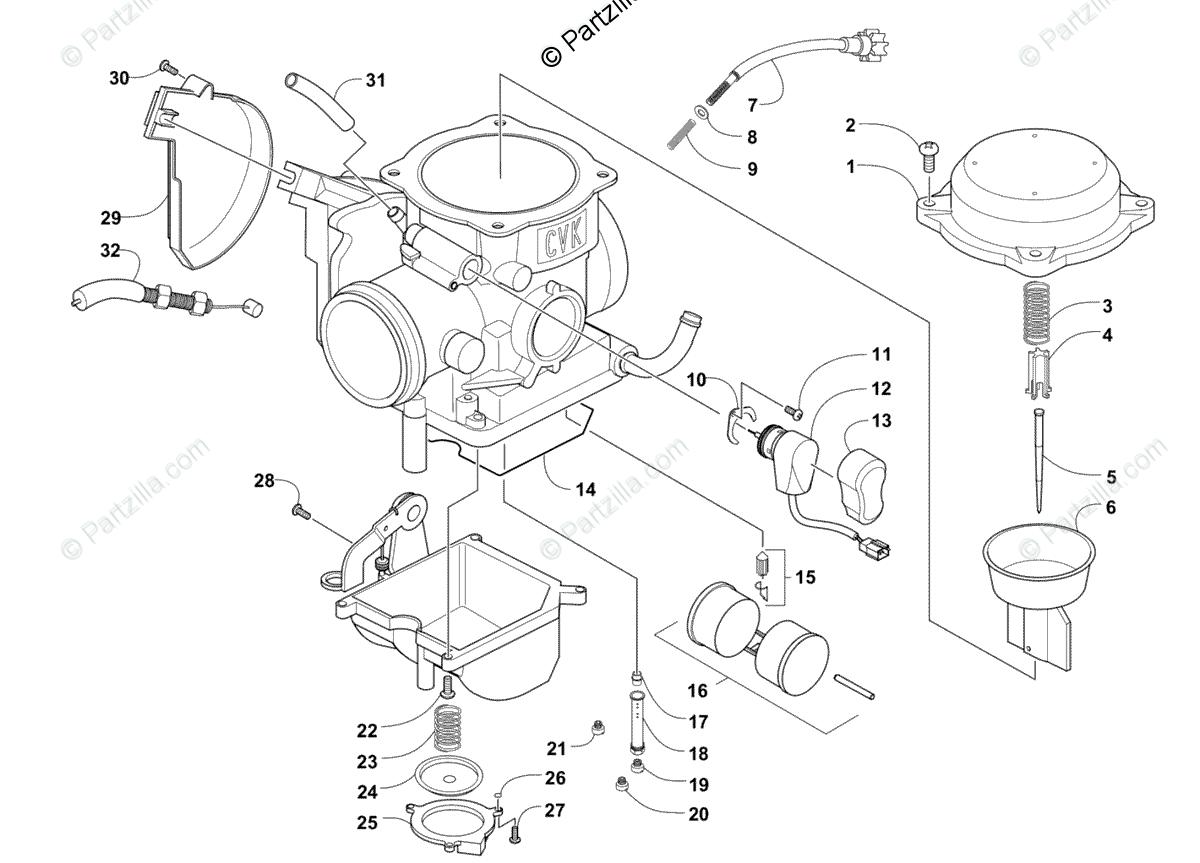 [DZ_8271] Carburetor Diagram And Parts List For Briggs