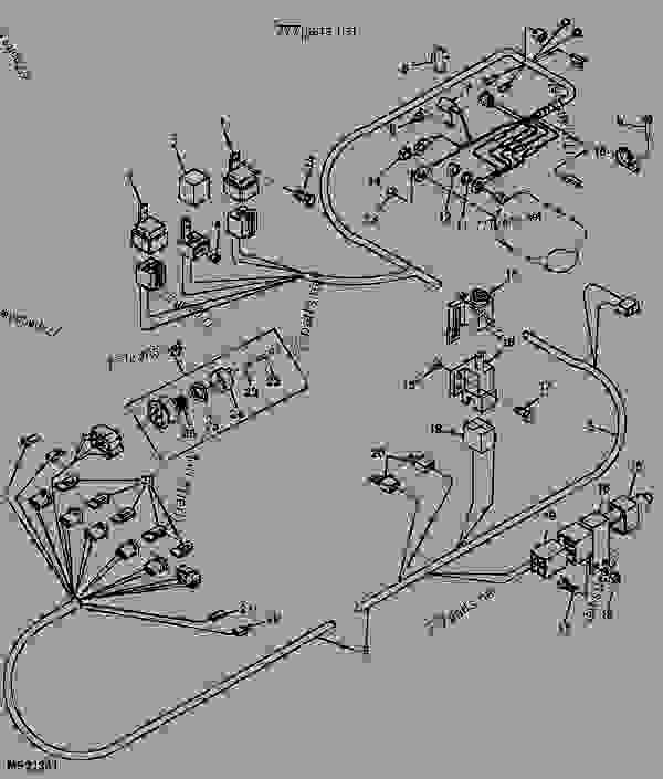 [XA_1102] John Deere 3032E Wiring Diagram Schematic Wiring