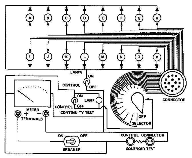 [XA_6390] Wiring Harness Continuity Test Wiring Diagram