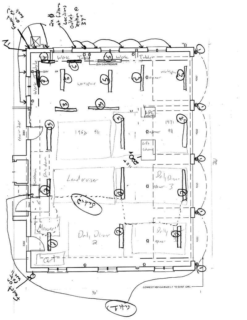 Nb 7168 Shop Garage Wiring Diagram Schematic Wiring