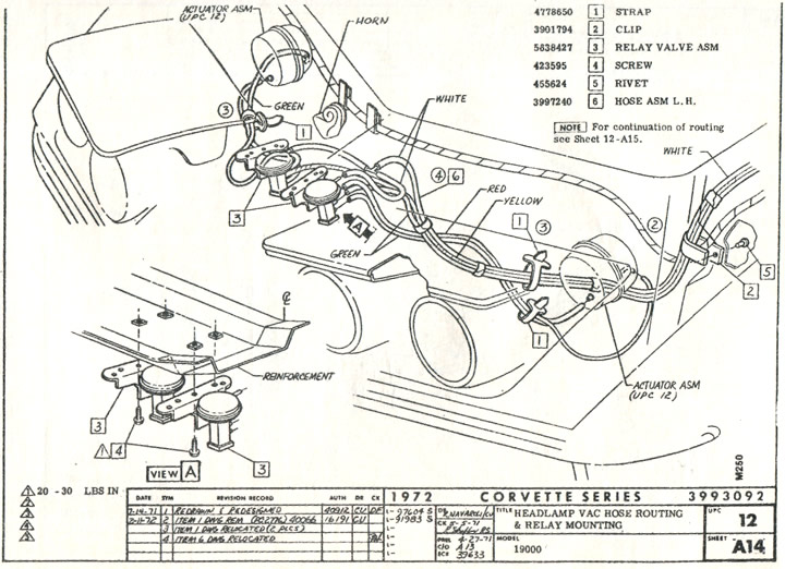 [AE_8579] Vacuum Diagram Chevy 350 Chevrolet Cars Trucks