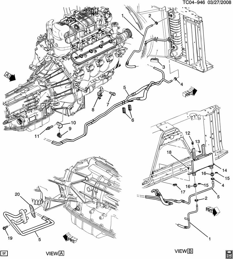 [DG_5461] 2003 Chevy Silverado Manual Transmission Diagram