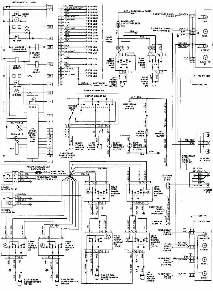 [DIAGRAM] Manual Sistema Volkswagen Golf Wiring Diagram In