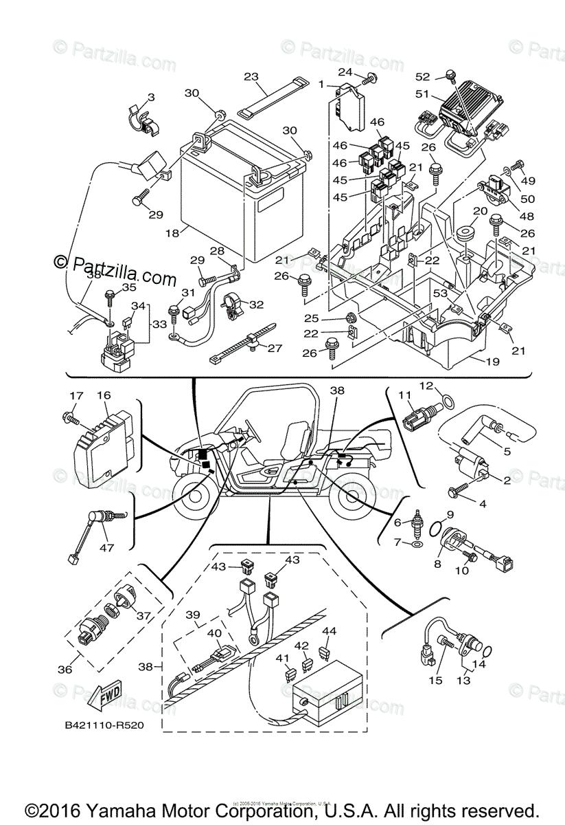 [GZ_7429] Wiring Diagram For Yamaha Viking Free Diagram