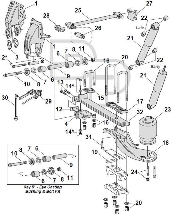 [FY_9461] Truck Air Ride Suspension Diagram Free Diagram