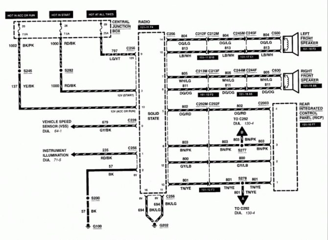 fl0908 ford explorer wiring diagram 2004 ford explorer