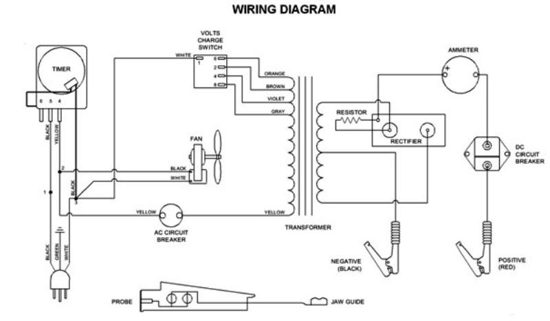 [KW_0591] Trickle Charger Wiring Diagram Schematic Wiring