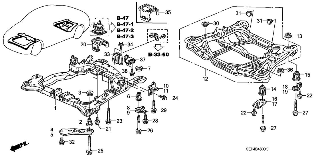[FM_7668] Acura Tl Suspension Parts Diagram On Acura Tl