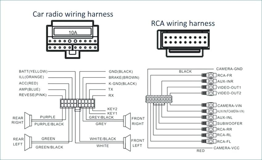 Jvc Car Stereo Wire Harness Diagram