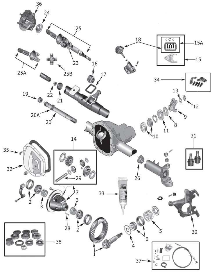 [XL_0734] Quadra Trac Jeep Wrangler Vacuum Diagram Wiring
