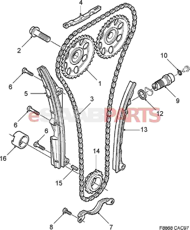 [OR_4303] Engine Timing Chain Diagram Download Diagram