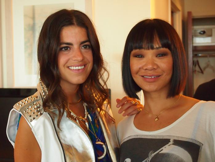leandra medine cfda1 Rebecca Minkoff & Leandra Medines Beauty Scoop for the CFDAs