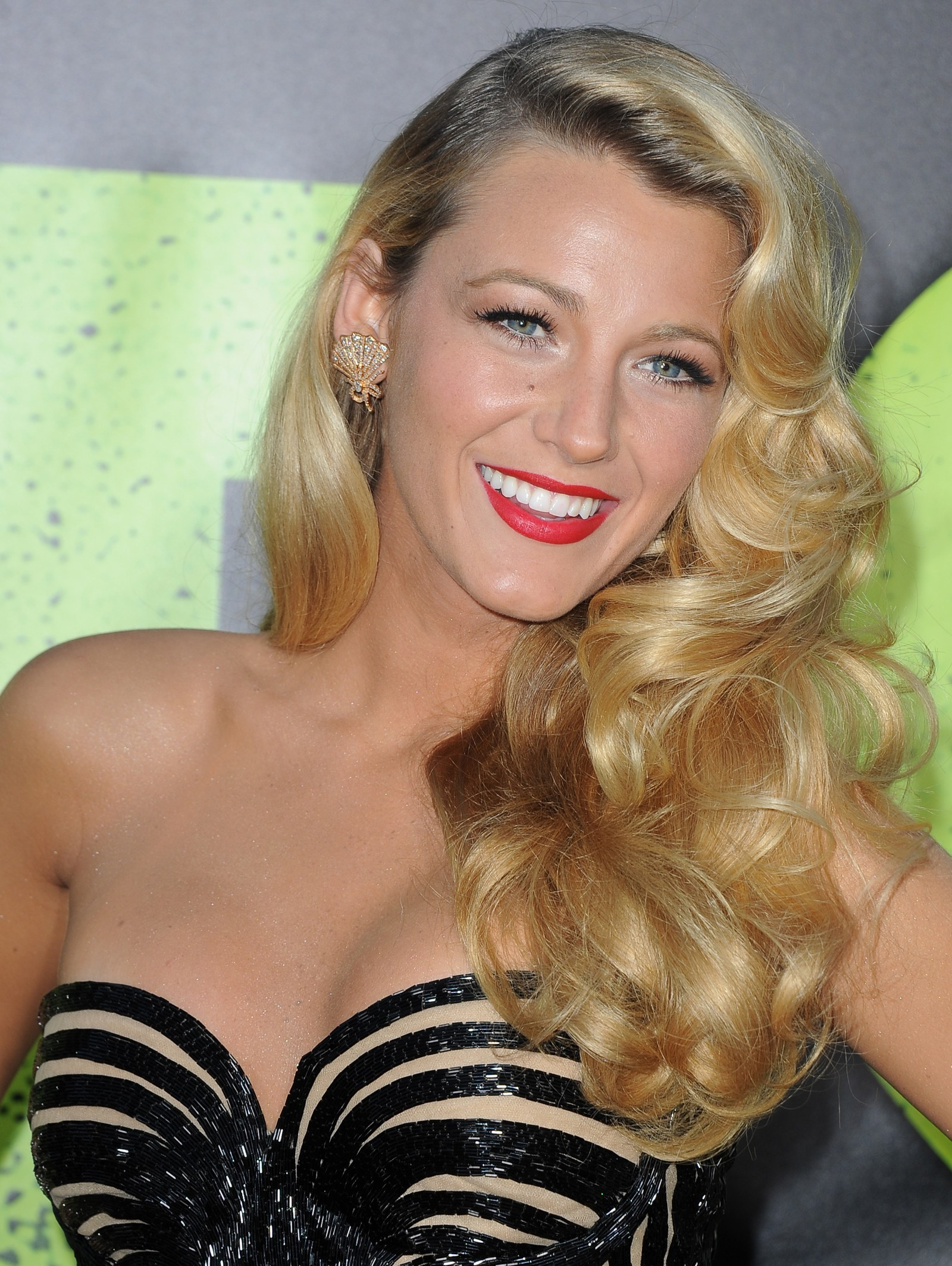 Actress Blake Lively arrives for the pre