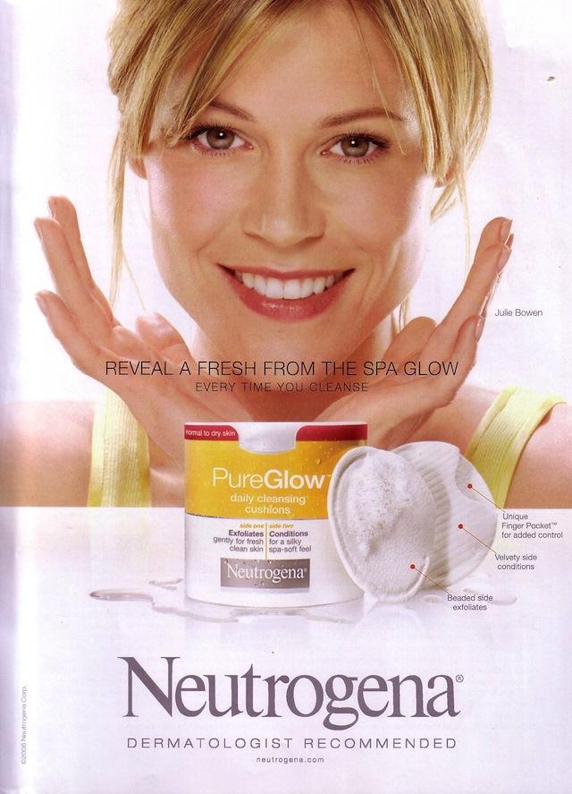 Julie Bowen Neutrogena