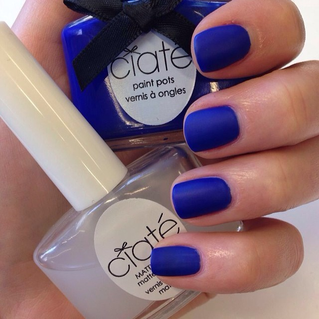 6e5d874a97d111e3b4f3120cafa3e51b 8 Blue Nail Polish: New Shades to Try Right Now
