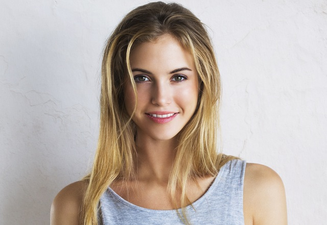 girl with blonde hair
