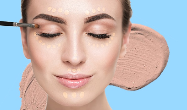 How To Apply Concealer On Each Part Of