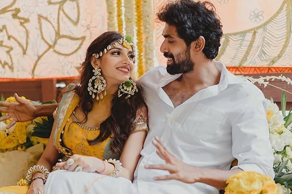 Miheeka Bajaj and Rana Daggubati Pre-Wedding