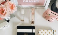 Chic and Functional Rose Gold Desk Accessories - FabFitFun