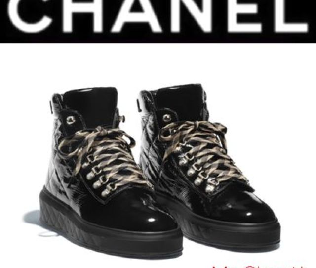 Chanel Outdoor Boots Other Check Patterns Mountain Boots Unisex Enamel