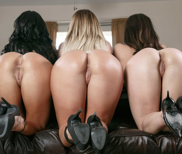 Three Pussies And Asses