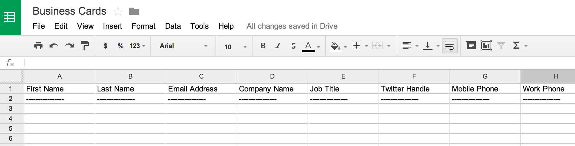 How to Scan Business Cards into a Spreadsheet