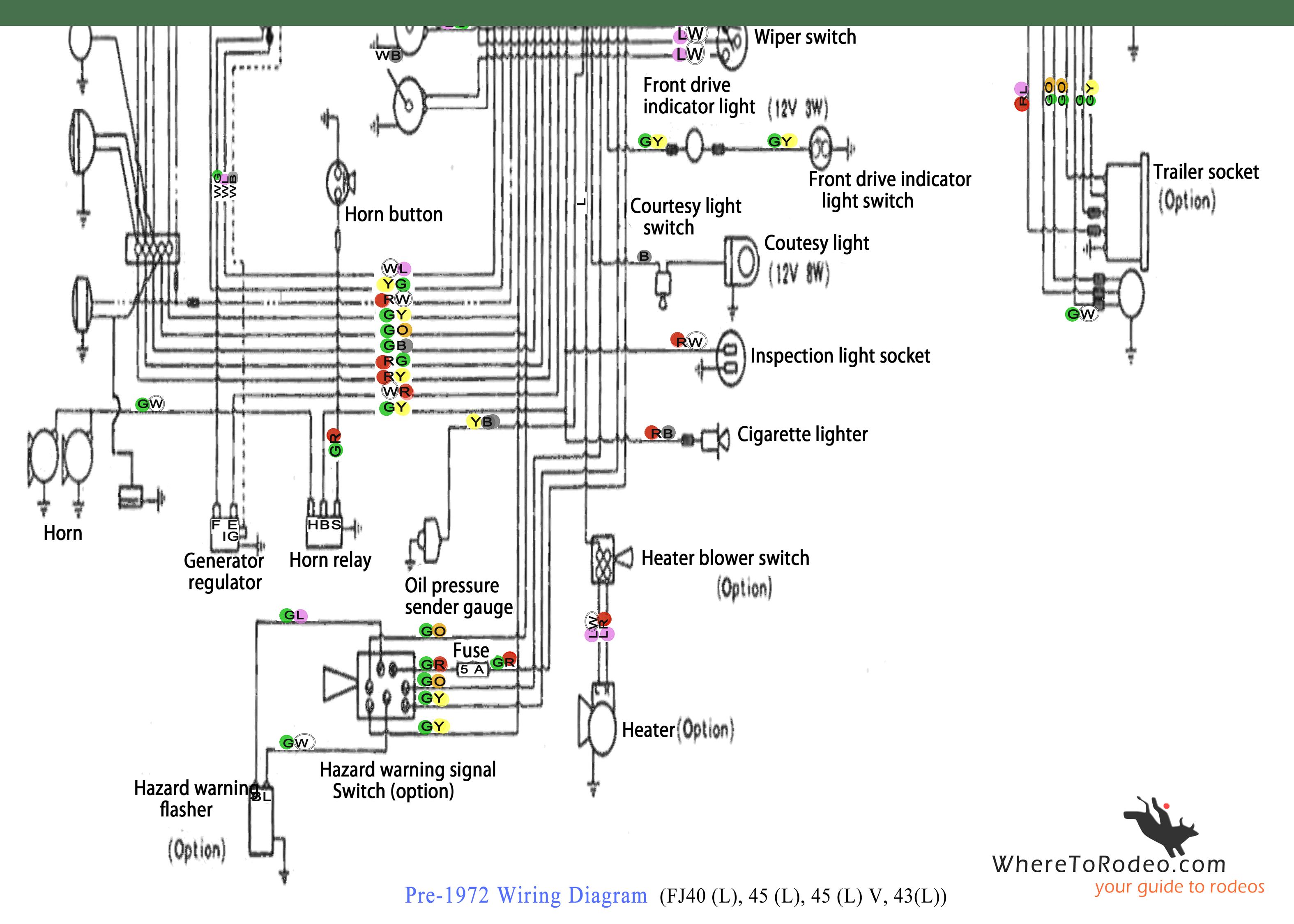 Corvette Windshield Wiper Wiring Diagram