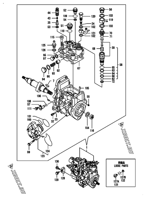 [HV_1889] Yanmar 3Tnv88 Wiring Diagram Wiring Diagram