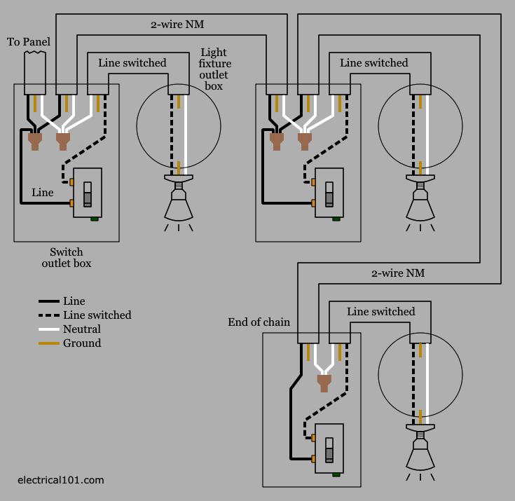 [HW_9128] Wiring Circuit For Lights Free Diagram