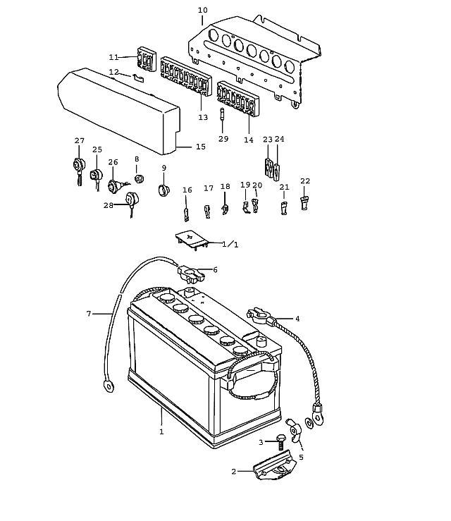 [LR_4472] 1977 Porsche Fuse Box Wiring Diagram