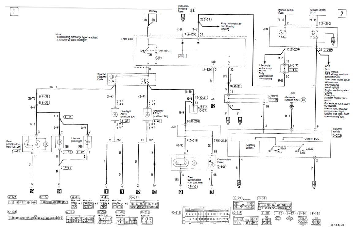 [DOWNLOAD] Wiring Diagram 2001 Mitsubishi Mirage Full