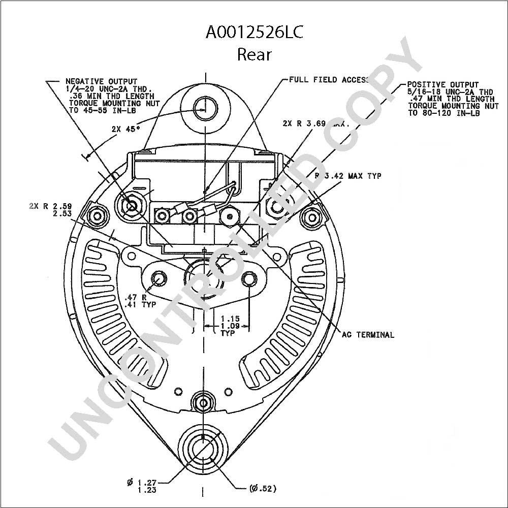 [RN_8094] Alternator Wiring Schematic Download Diagram