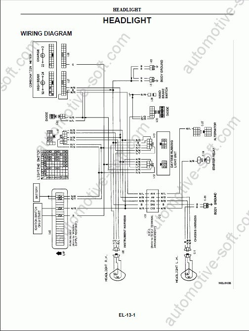 [WE_9112] Nissan Ud Dump Truck Wiring Diagrams Download