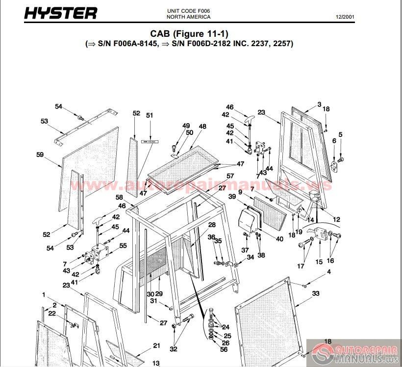[KK_9559] Fork Lift Parts Catalog Komatsu Forklift Parts