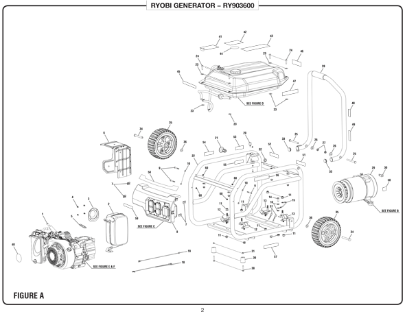 [HH_3083] Cylinder Block Group Diagram And Parts List For