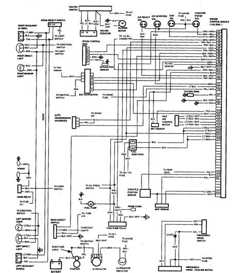 [KK_2419] El Camino Wiring Schematic Download Diagram