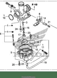 [MH_5234] Honda Crf150F Carburetor Diagram Schematic Wiring