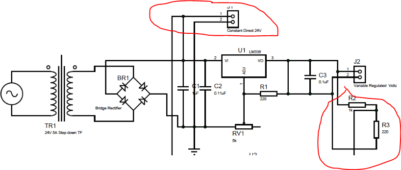 [SK_0030] Ac Voltage Regulator Circuit Free Diagram