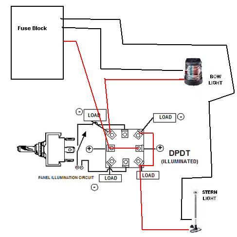 Wiring Diagram For Navigation Lights On A Boat For Your Needs