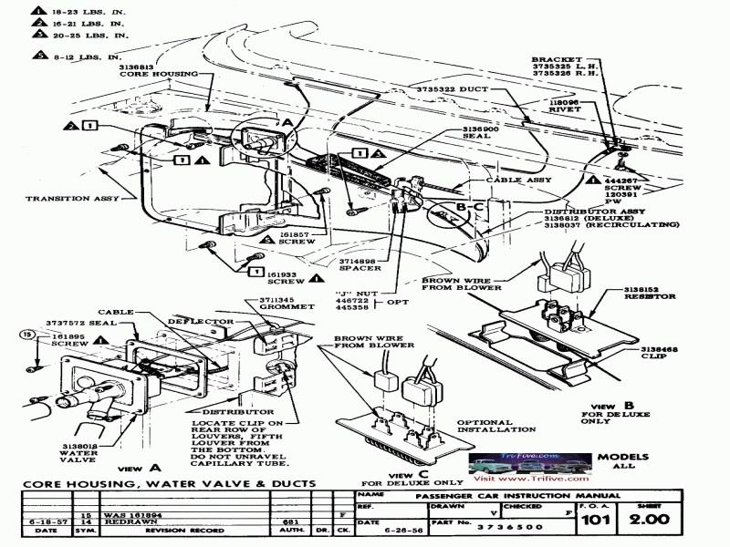 [DH_0106] Belair Wiring Diagram Trifivecom 1955 Chevy 1956