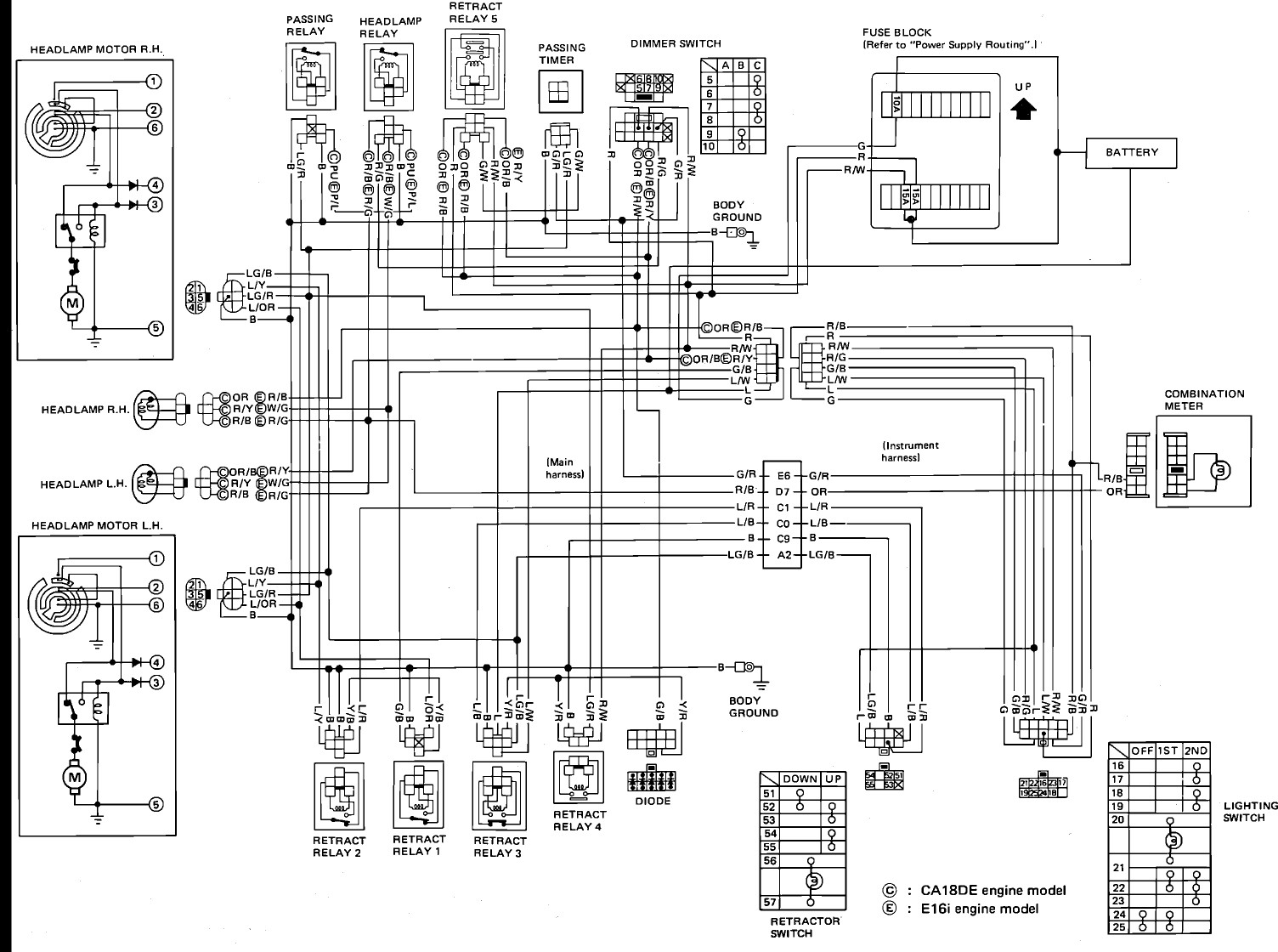Radio Wiring Diagram For Nissan Altima