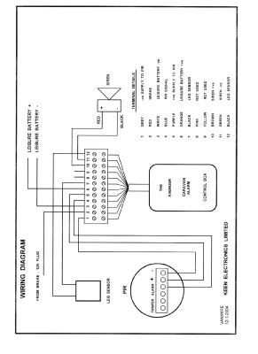 [NG_2137] Alarm Pir Wiring Instructions Schematic Wiring