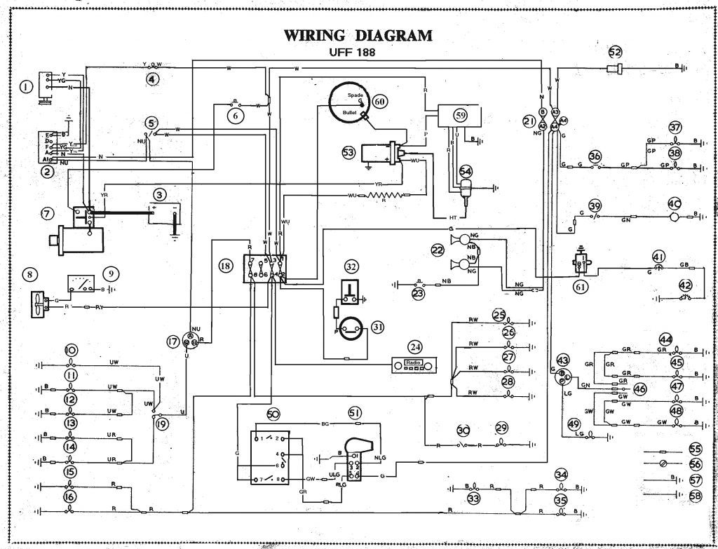 [Download 22+] Triumph Spitfire Wiring Diagram Electrical