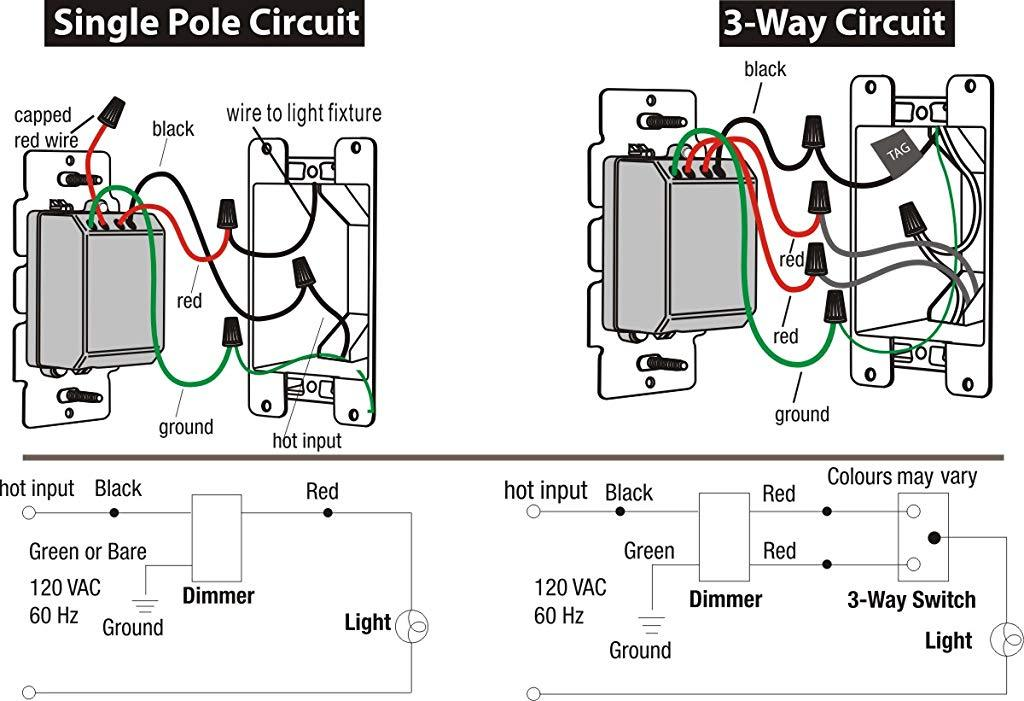 Wiring Diagram Gallery: 3 Way Led Dimmer Switch Wiring Diagram